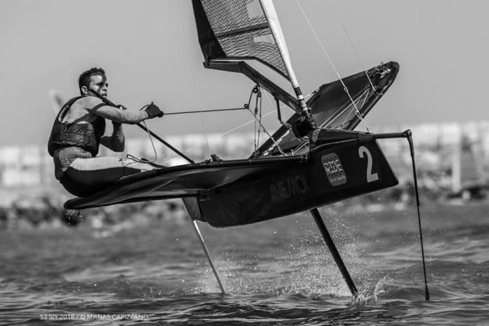 Campeonato Argentino clase Moth, Mar del Plata.