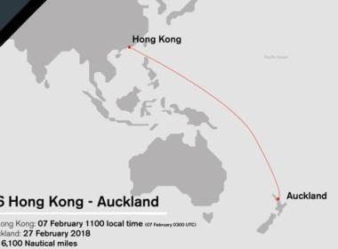 VOLVO OCEAN RACE Sexta etapa entre Hohg Kong y Auckland