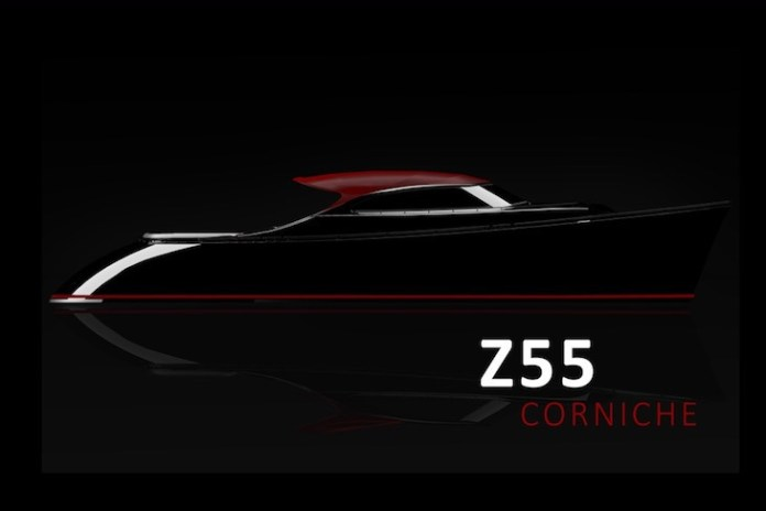 Z55 Corniche, una convertible de Zeelander Yachts