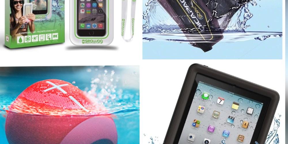 Accesorios para proteger su electrónica en el agua