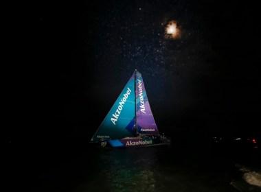 El AkzoNobel completa el podio final de la Etapa 7