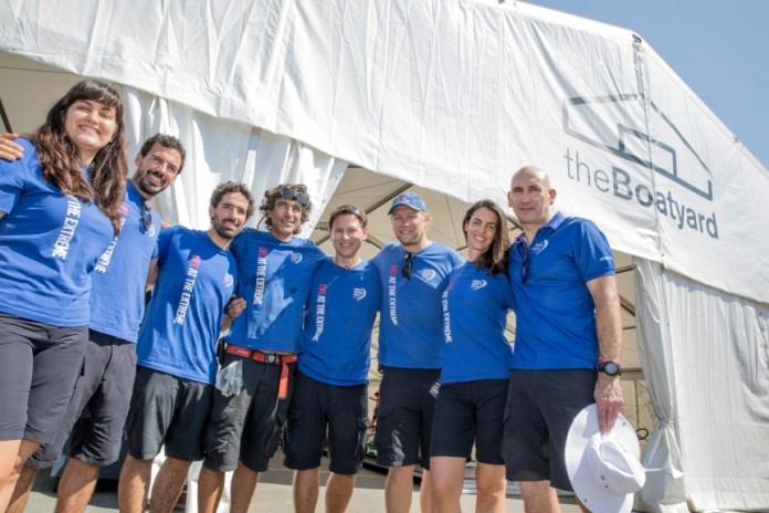 El astillero de la Volvo Ocean Race tiene a varios hispanoparlantes