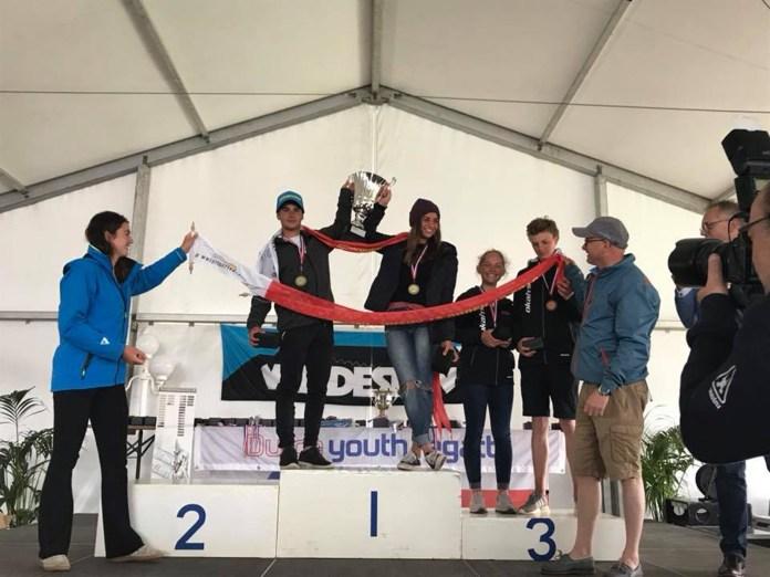 Argentina campeón en Nacra 15 en Holanda