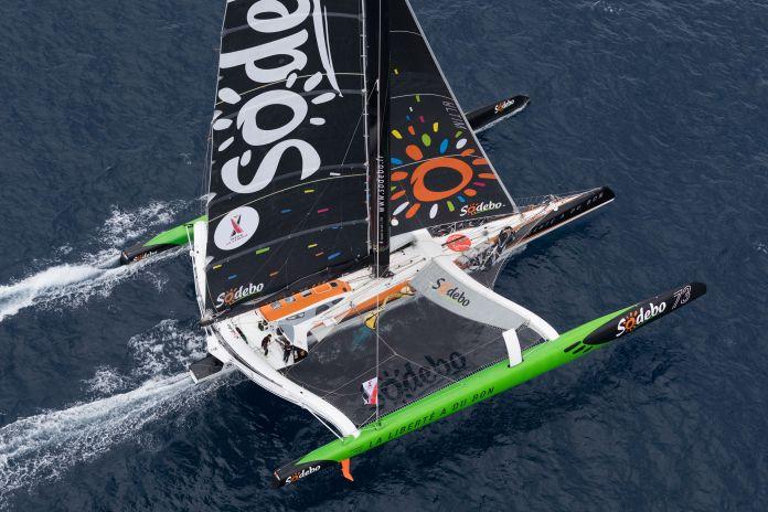 Nice Ultimed Victoria para la tripulación de Sodebo Ultim