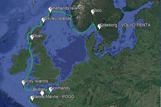 Ruta vikinga: cruzando Suecia - Bretaña en Loxo 32
