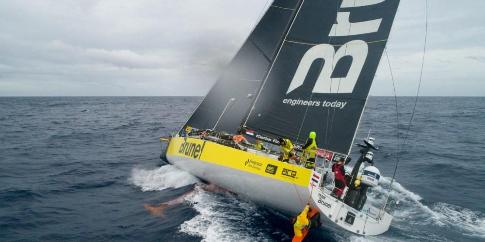 El Brunel bate el récord de la clase Volvo Ocean 65: 555 millas en 24 horas