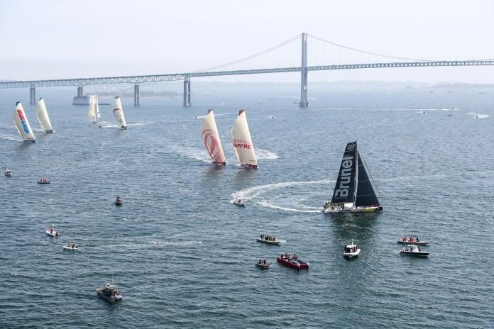 Volvo Ocean Race. Team Brunel lidera la etapa 9.