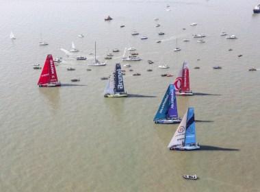 El MAPFRE lidera la salida de la etapa 10 de la Volvo Ocean Race