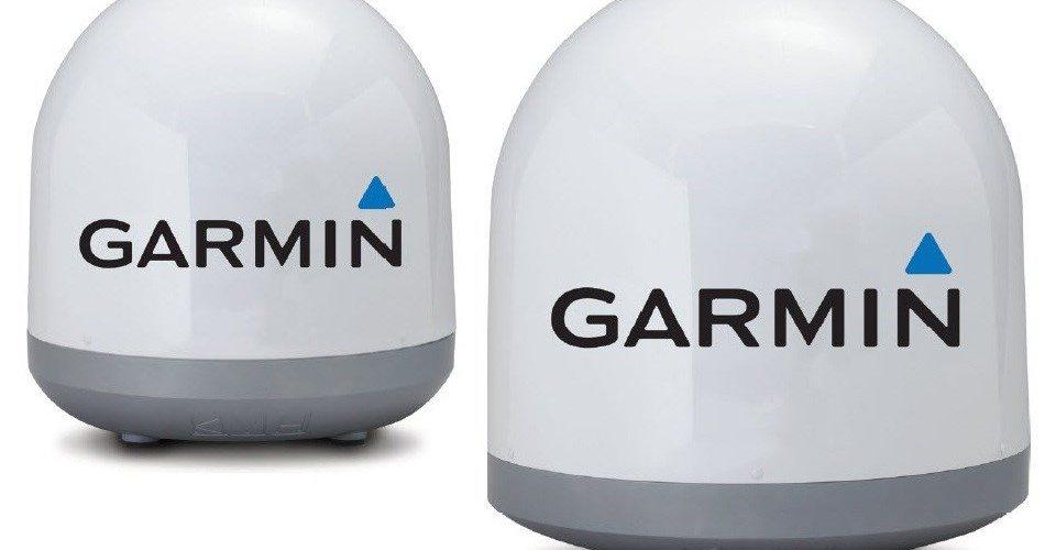 Garmin y KVH se asocian en antenas de TV por satélite