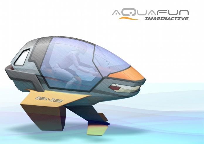 Aquafun una embarcación con hidroplano