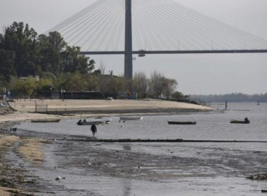 La bajante del Rio Paraná no se detiene