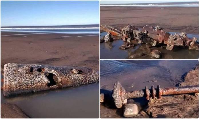 Sudestada descubrió los restos del naufragio de 1916