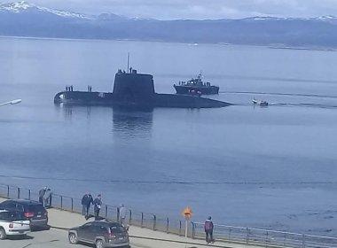 Fotos inéditas del submarino ARA San Juan en su última misión