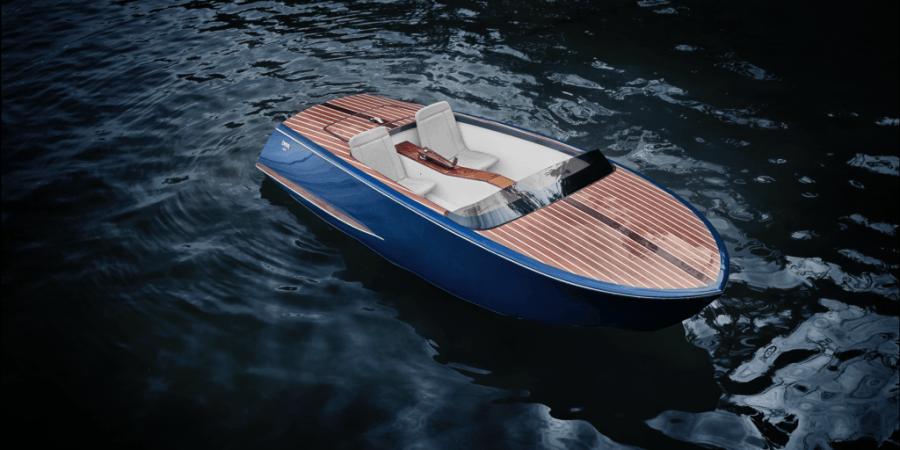 Beau Lake Pedal Boat, el bote con más glamour