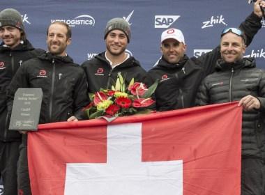 Alinghi gana la Extreme Sailing Series en Cardiff