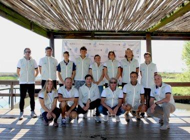 El equipo Argentino Juvenil de Vela