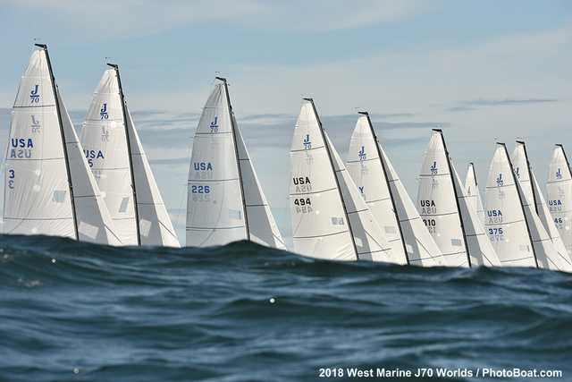 J70 world championship L
