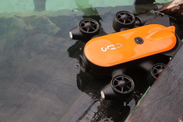 Drones sumergibles para explorar el mar