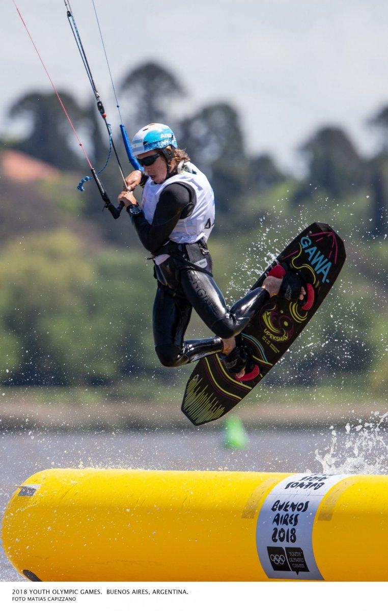 Kitesurf en los JUEGOS OLIMPICOS DE LA JUVENTUD