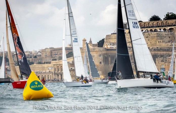 Rolex Middle Sea Race en marcha