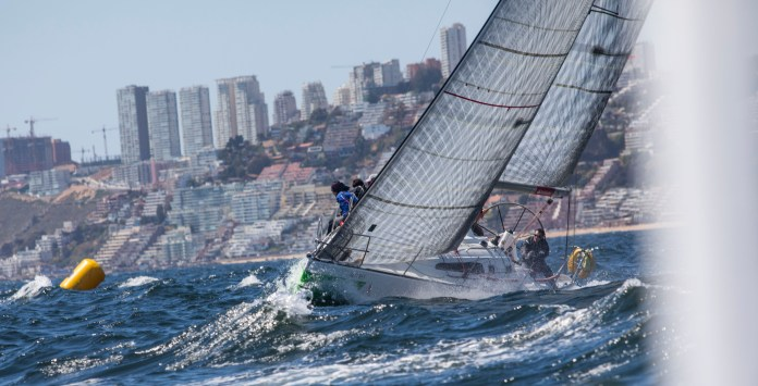 Regata Santander Interclubes en Algarrobo