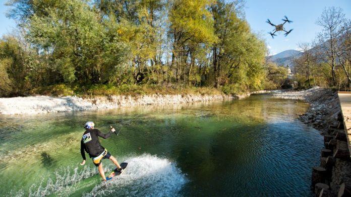 Wakeskating, el drone para agua