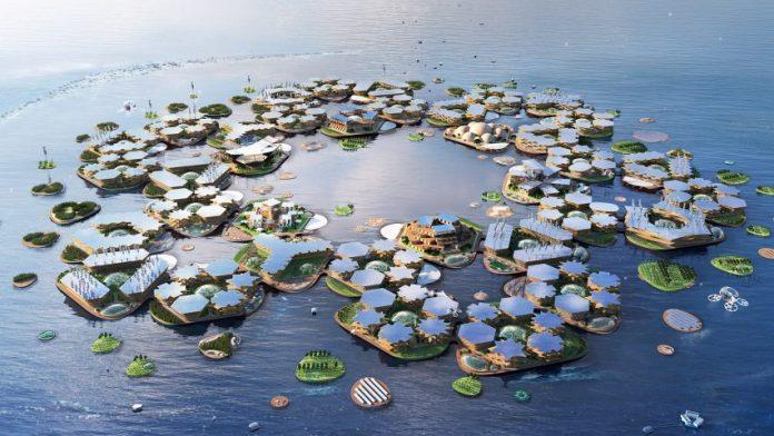 Oceanix City, la ciudad flotante.
