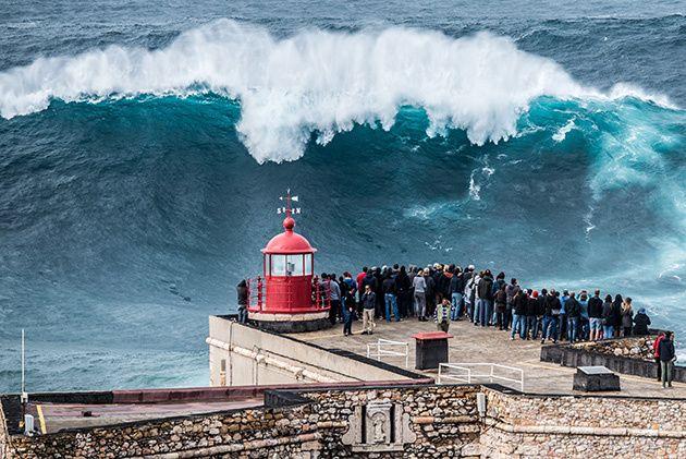 olas más gigantes del mundo.