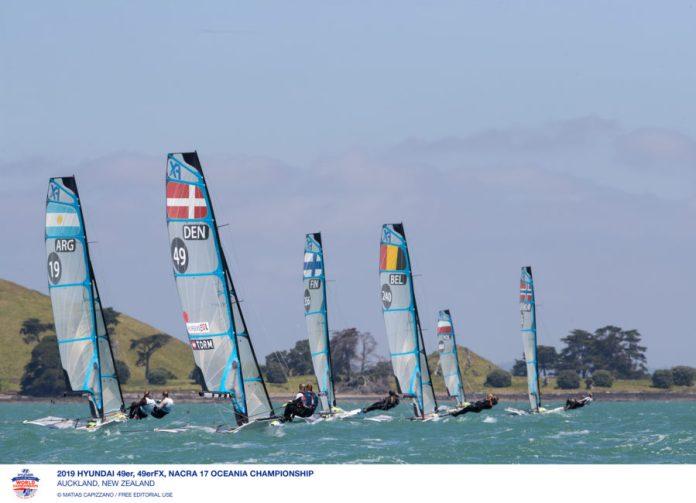 49er, 49erFX , Nacra17 . Oceania Championships