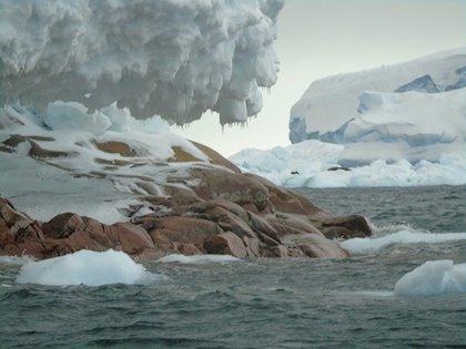 Antártida Deshielo