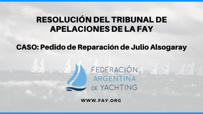 RESOLUCIÓN FAY EN EL CASO JULIO ALSOGARAY