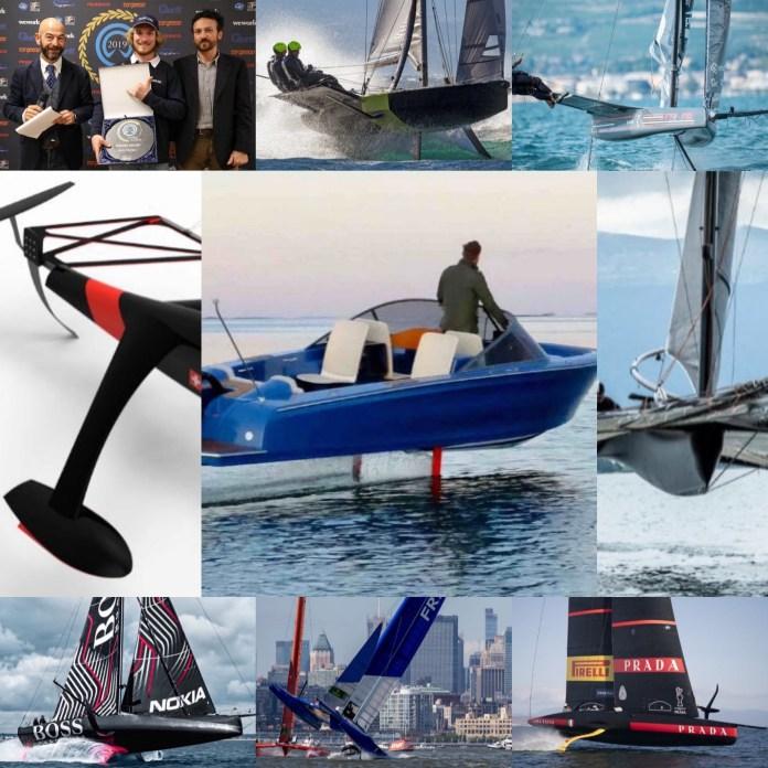 Foiling Week , premios a barcos voladores.