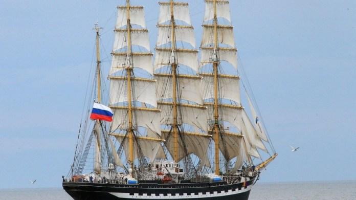 velero ruso Kruzenshtern