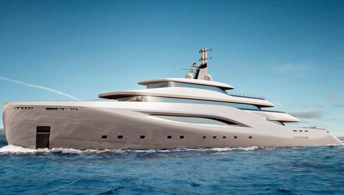 Ottantacinque , el megayate diseñado por Fincantieri & Pininfarina