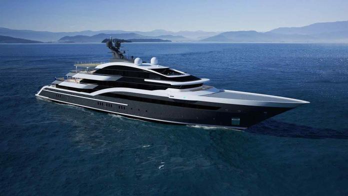 megayate Oceanco de 90M
