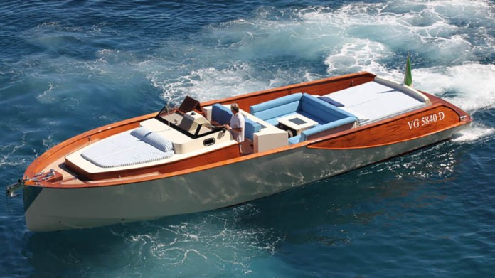 Lancha Wooden Boats WB 40 Classic