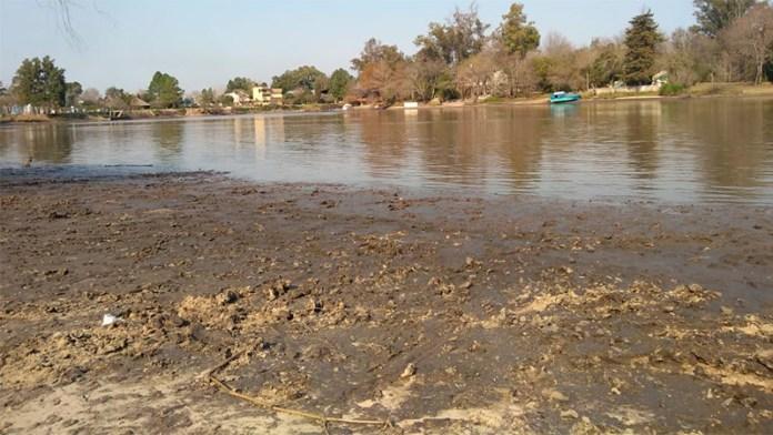 bajante río Gualeguaychú