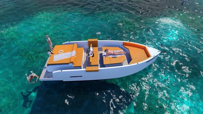 Lancha De Antonio Yachts D28 deck
