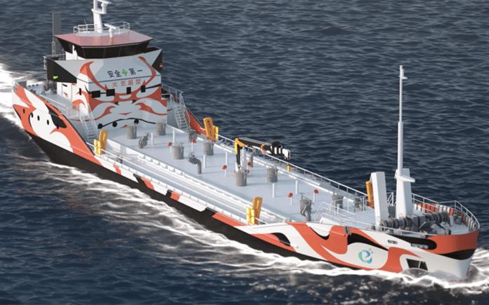 Primer buque petrolero eléctrico