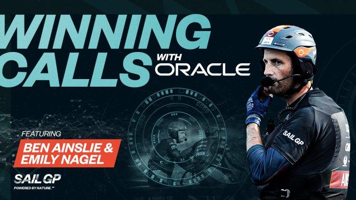 SailGP Winning Calls Oracle