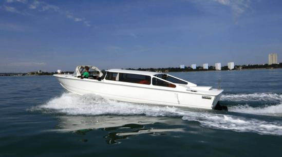 Taxis acuáticos híbridos en Venecia