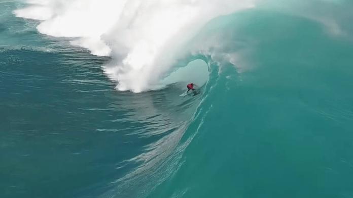 la mejor ola del mundo