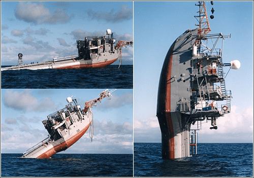 FLIP barco plataforma marina