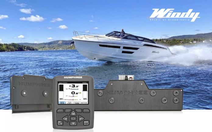 Windy Boats con sistemas de estabilización Humphree