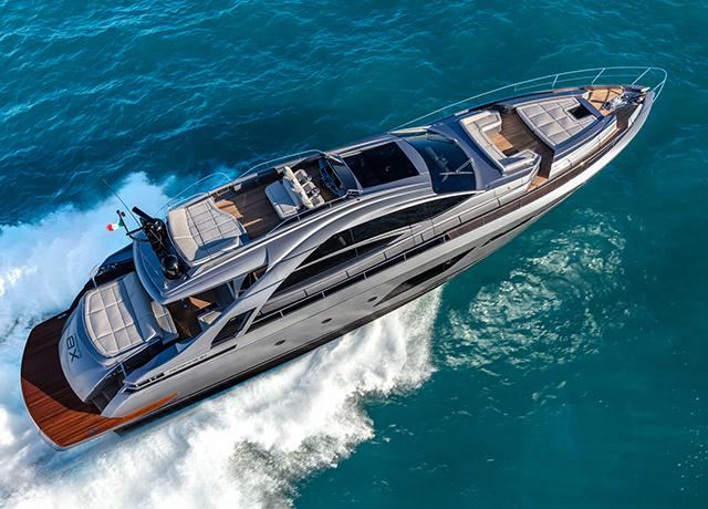Pershing Yachts 9X