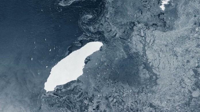 Iceberg a 68