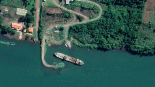 catástrofe ecológica en el rio Paraná.
