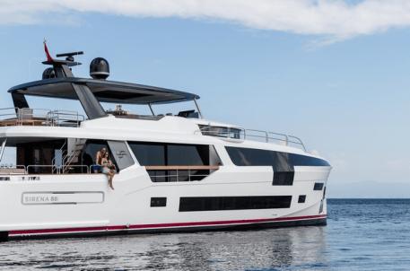 Sirena Yachts 88 RPH obra de Germán Frers.