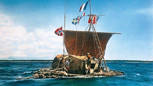 Kon-Tiki. La expedición que unió Sudamérica y la Polinesia en 1947