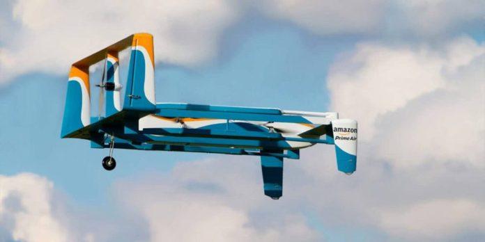 El drone de Amazon